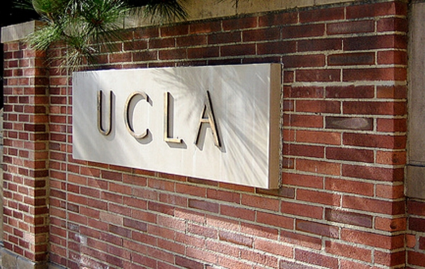A sign at UCLA is seen in this file photo: (Credit: KTLA)