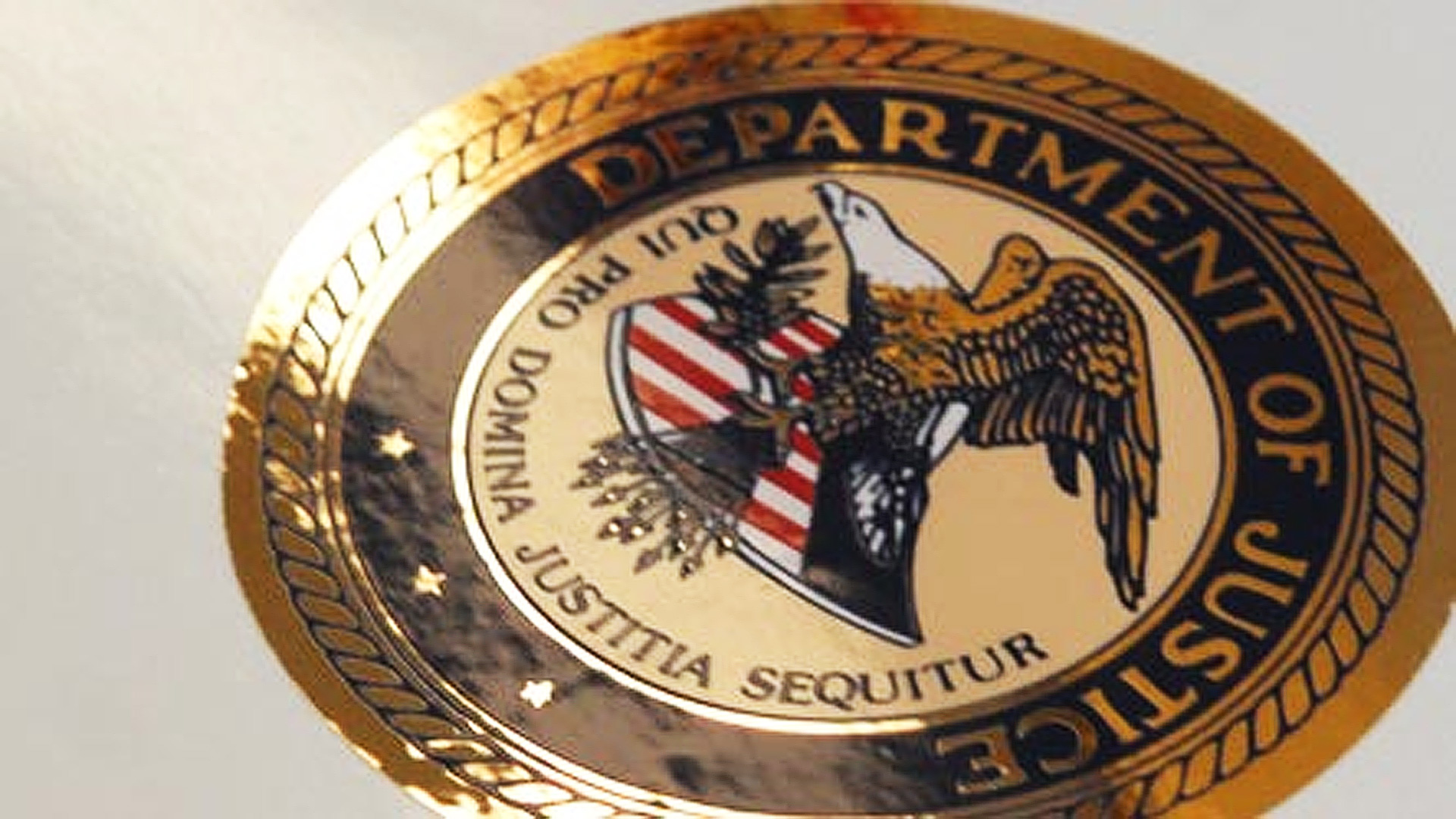 filephoto Department of Justice Seal