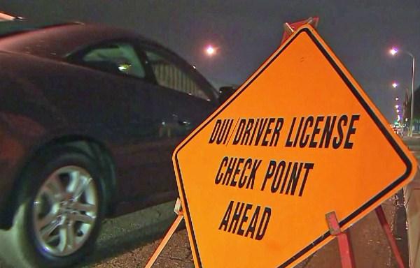 filephoto DUI Checkpoint