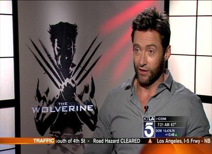 Hugh Jackman Talks Wolverine