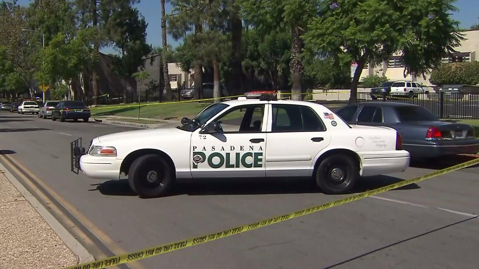 A Pasadena Police Department patrol unit is seen in a file photo. (KTLA)