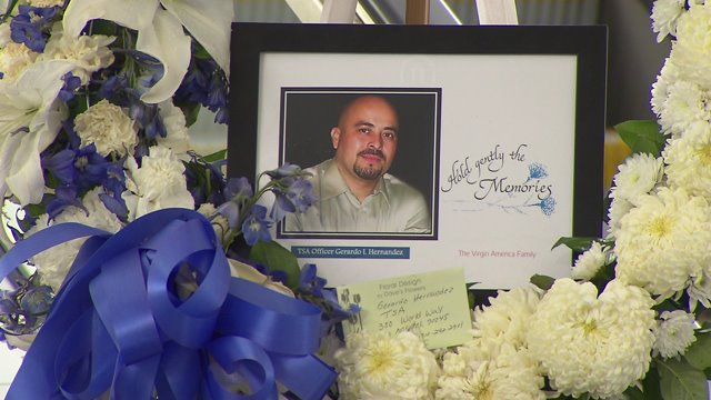 TSA Honors Slain LAX Security Officer with Moment of Silence