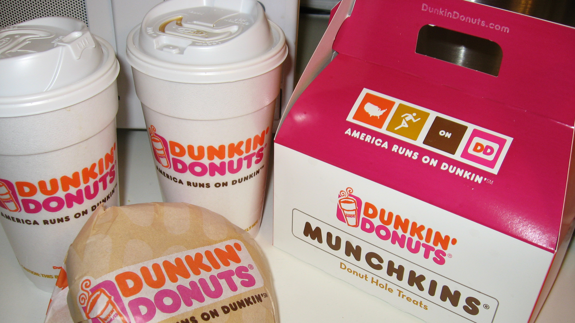 File photo of Dunkin' Donuts. (Credit: Qfamily/flickr via Creative Commons)