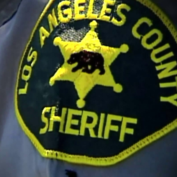 File photo of a Los Angeles County Sheriff's Department patch. (Credit: KTLA)