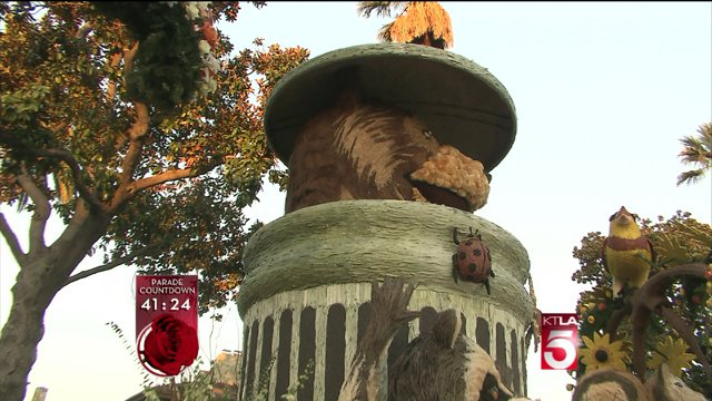 "Glendale Comes up With ""Meatball the Bear"" Float for Rose Parade"