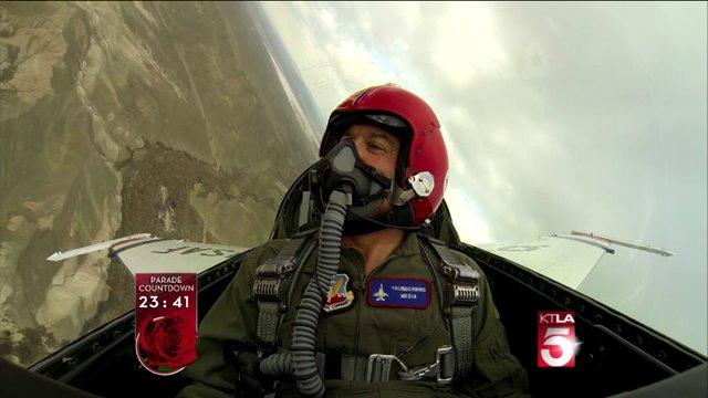 Frank Buckley Flies in F-16 Fighter Jet