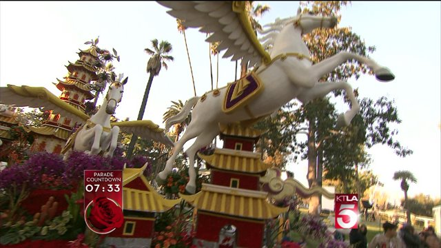 Singpoli Group Creates Inaugural Rose Parade Float