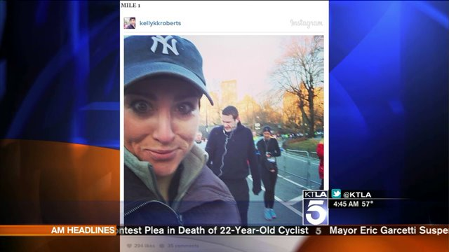 Sly Selfies Catch 'Hot Guys' During NY Half-Marathon