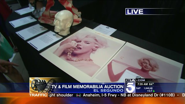 TV & Film Memorabilia Auction- Marilyn Monroe Photos