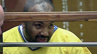 Chester Turner is pictured in court during his 2007 murder trial. (KTLA)