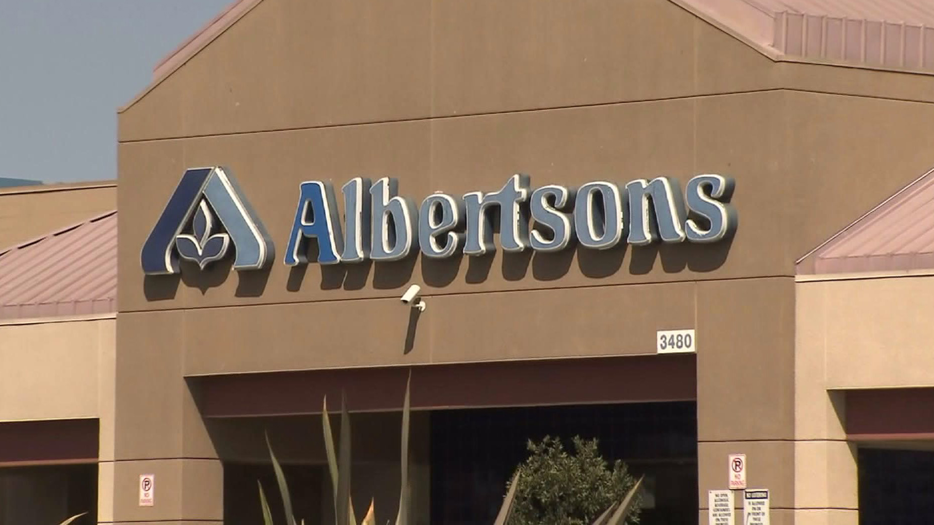 An Albertsons store is seen in a file photo. (Credit: KTLA)