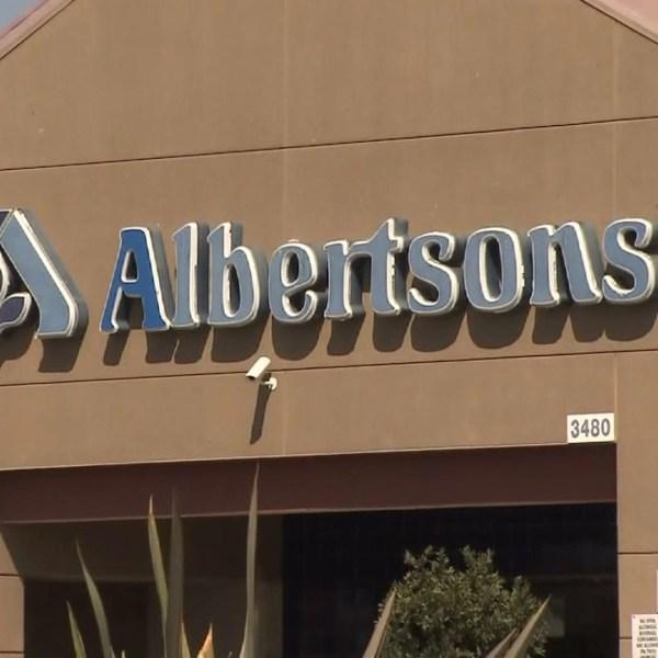 An Albertsons store is seen in a file photo. (Credit: KTLA)