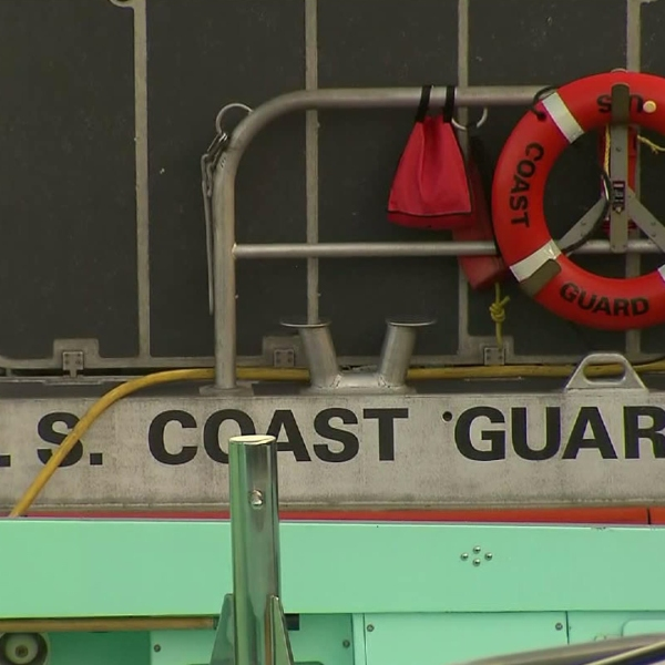 A file photo shows a U.S. Coast Guard vessel. (Credit: KTLA)