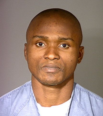 Charly Leundeu Keunang, 43, appears in a 2000 booking photo provided by the Ventura County Sheriff's Office.