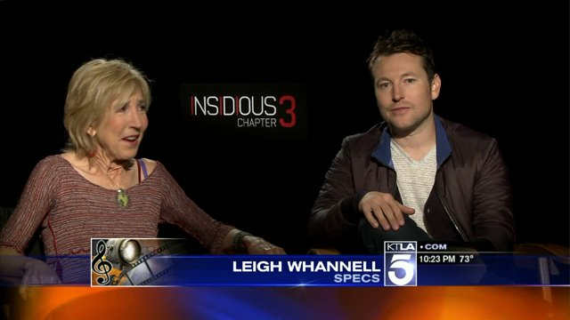 Insidious Chapter Three Into The Further 4d Experience Has Cast Members All Spooked Ktla