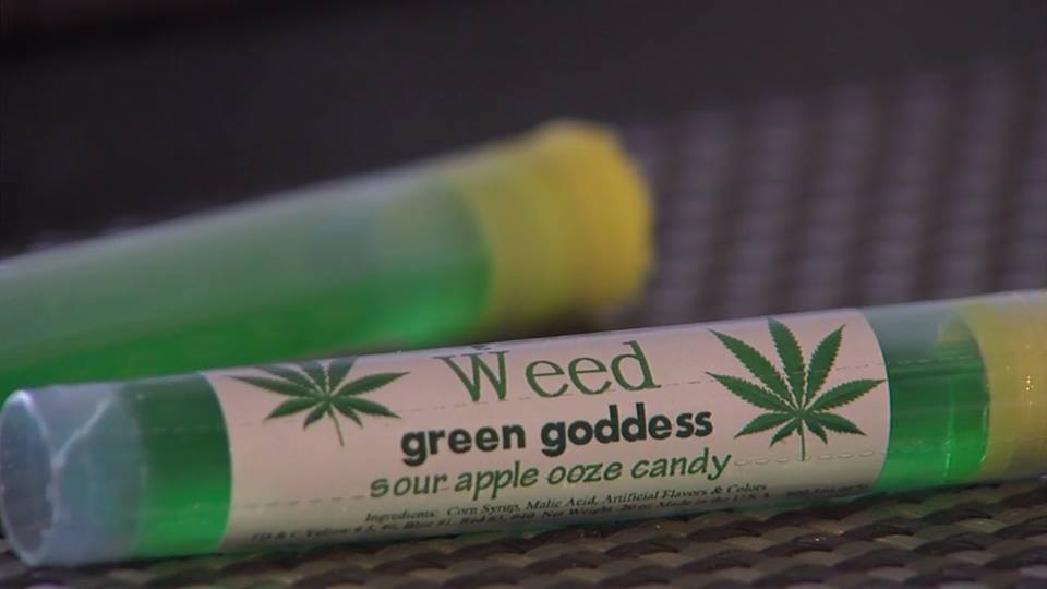 Liquid Weed candy is raising concerns with at least one California parent. (Credit: KTXL)