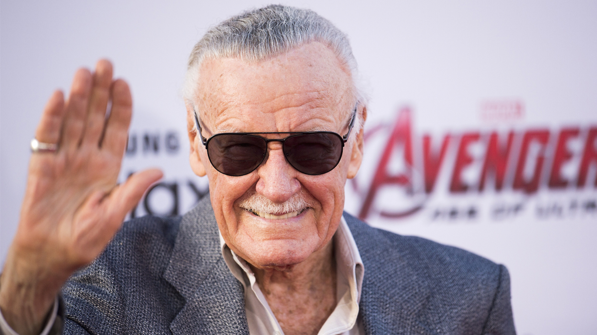 Stan Lee attends the premiere of Marvel's 'Avengers: Age Of Ultron' at the Dolby Theatre on April 13, 2015 in Hollywood. (Credit: Robyn Beck/AFP/Getty Images)