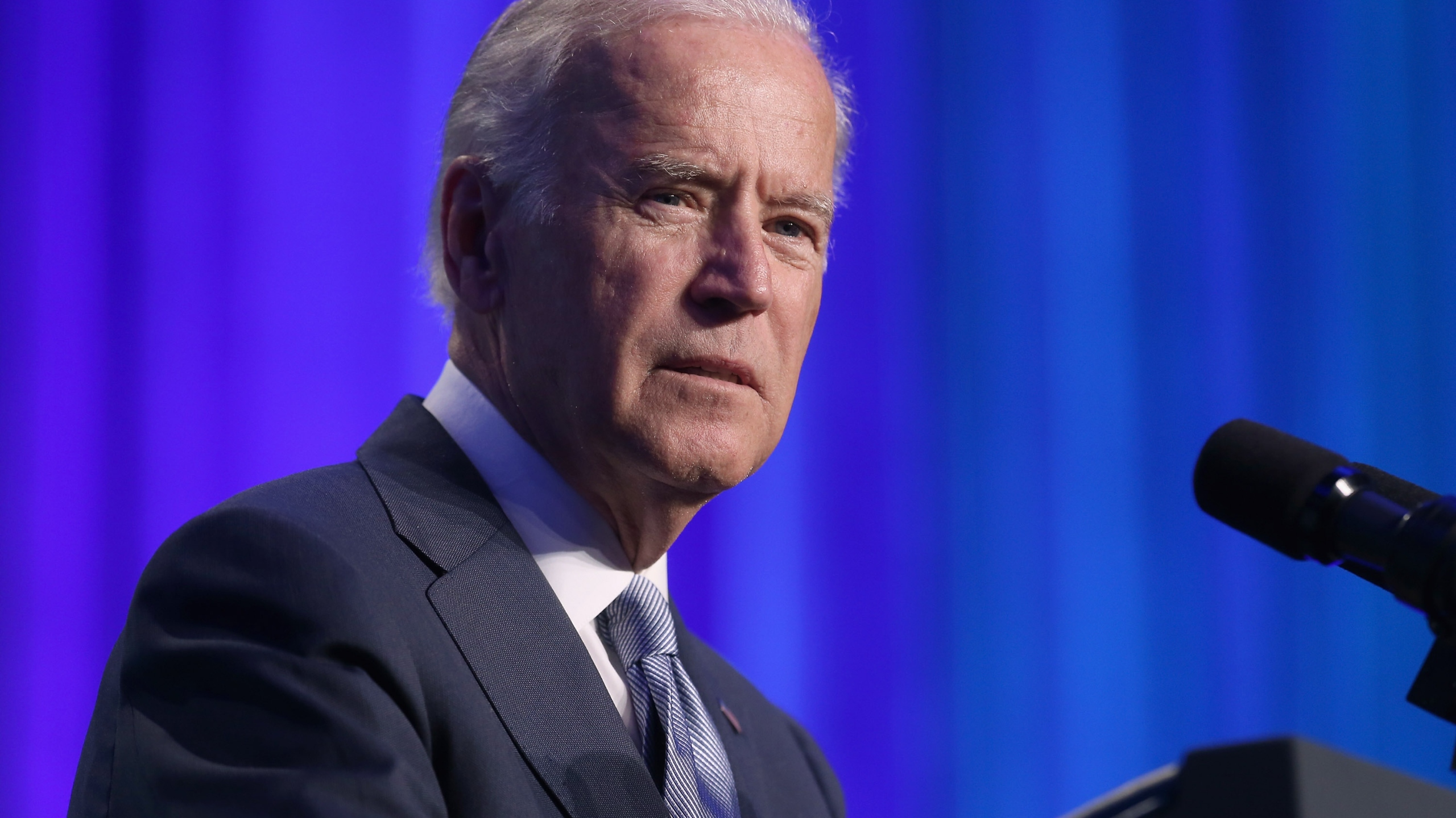 U.S. Vice President Joe Biden addresses the 10th annual Make Progress National Summit at the Walter E. Washington Convention Center July 16, 2015, in Washington, D.C. (Credit: Chip Somodevilla/Getty Images)