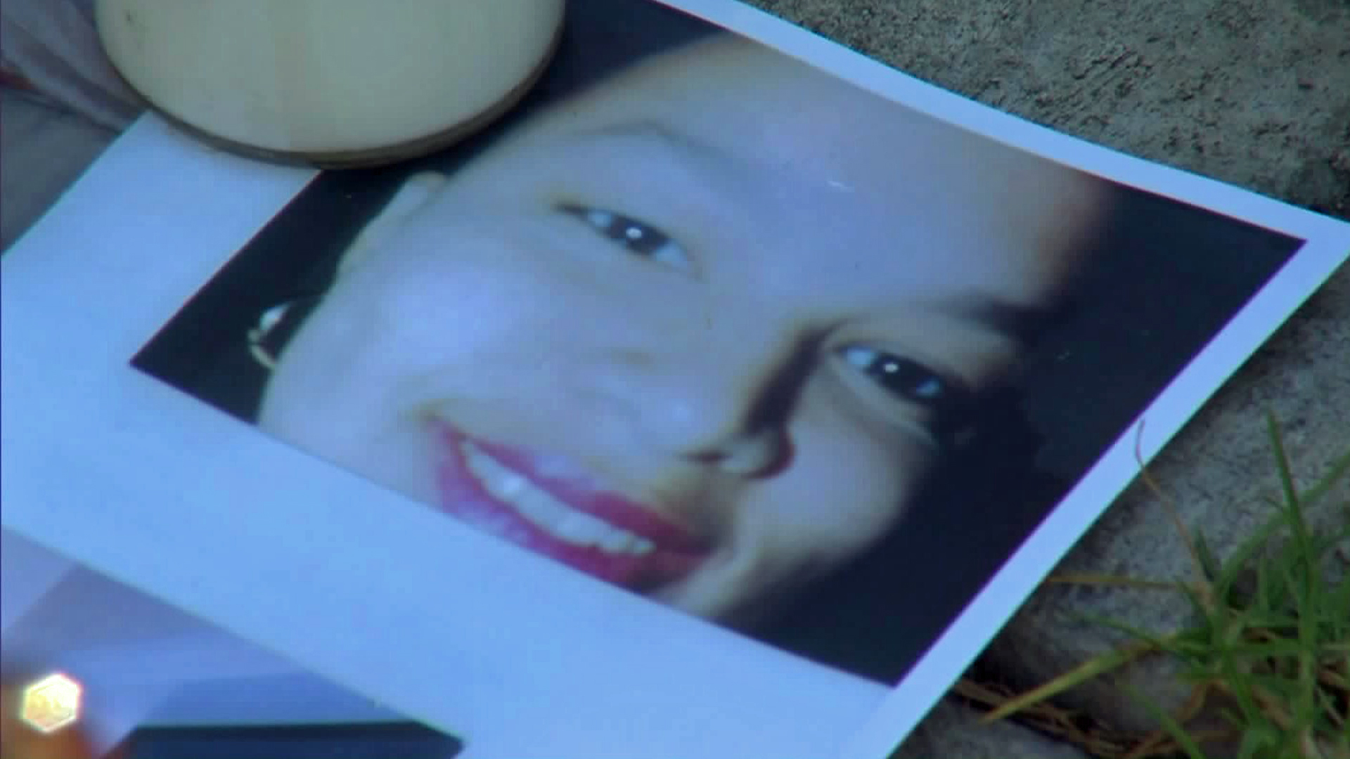Raven Campbell is shown in a photo displayed at a family vigil on July 6, 2015. (Credit: KTLA)