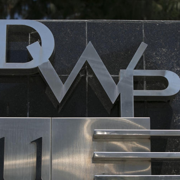 A Los Angeles Department of Water and Power sign is seen in a file photo. (Credit: Robert Gauthier / Los Angeles Times)