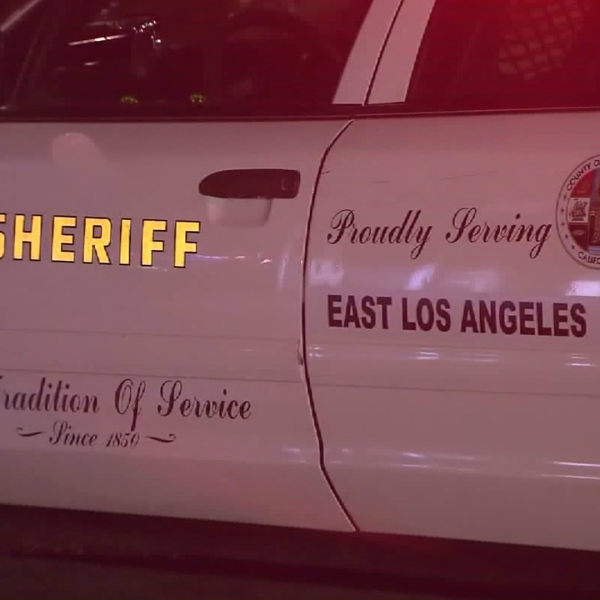 A Los Angeles County Sheriff's Department vehicle is pictured. (Credit: KTLA)