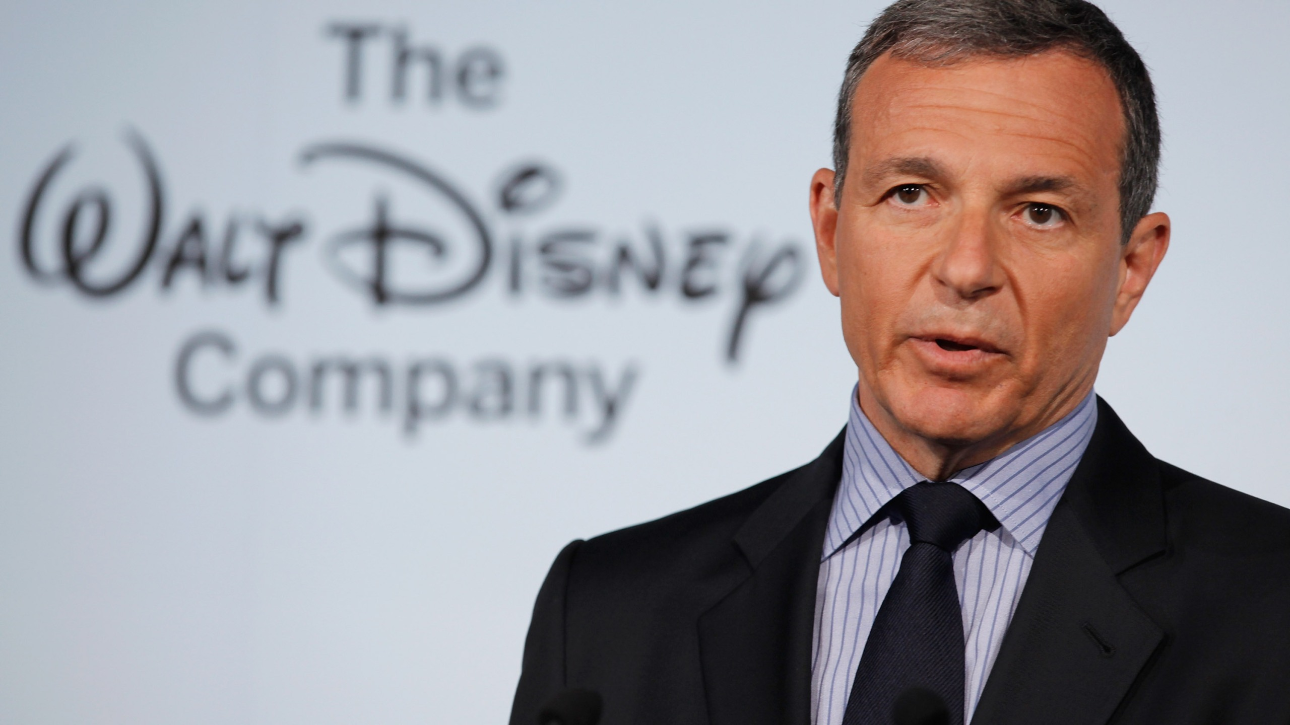 The Walt Disney Company Chairman and CEO Robert Iger delivers remarks during an event on June 5, 2012, in Washington, DC. (Chip Somodevilla/Getty Images)