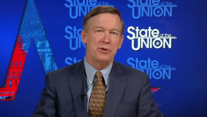 Colorado Gov. John Hickenlooper speaks on Nov. 29, 2015, about the deadly shootings at a local Planned Parenthood. (Credit: CNN)