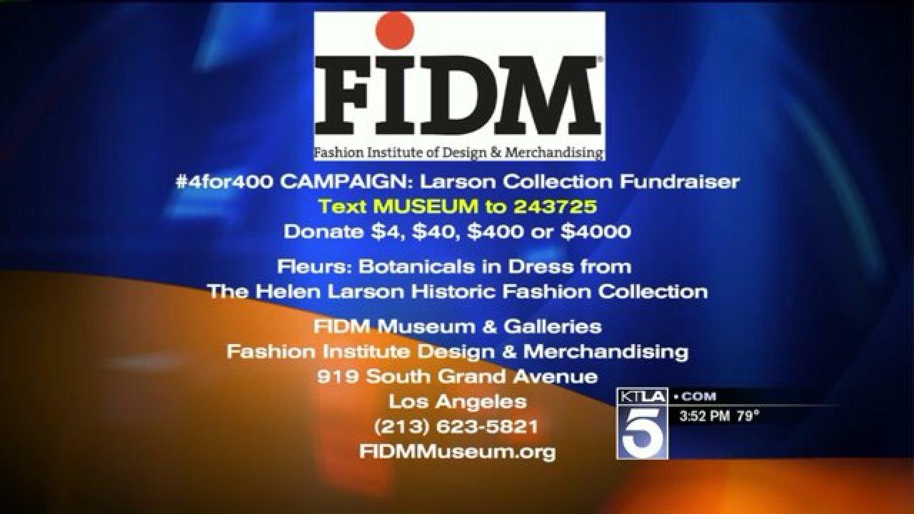 Helen Larson Historic Fashion Collection Fundraiser Ktla