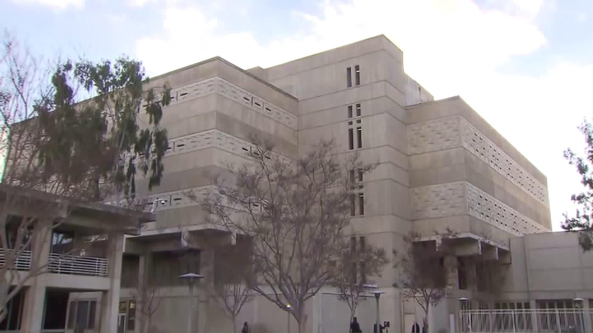 The Orange County Central Men's Jail in Santa Ana is seen on Jan. 23, 2016. (Credit: KTLA)