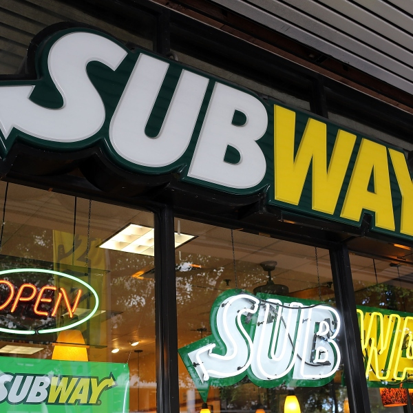 A Subway restaurant is seen in this file photo taken Oct. 21, 2015, in Miami, Florida. (Credit: Joe Raedle/Getty Images)