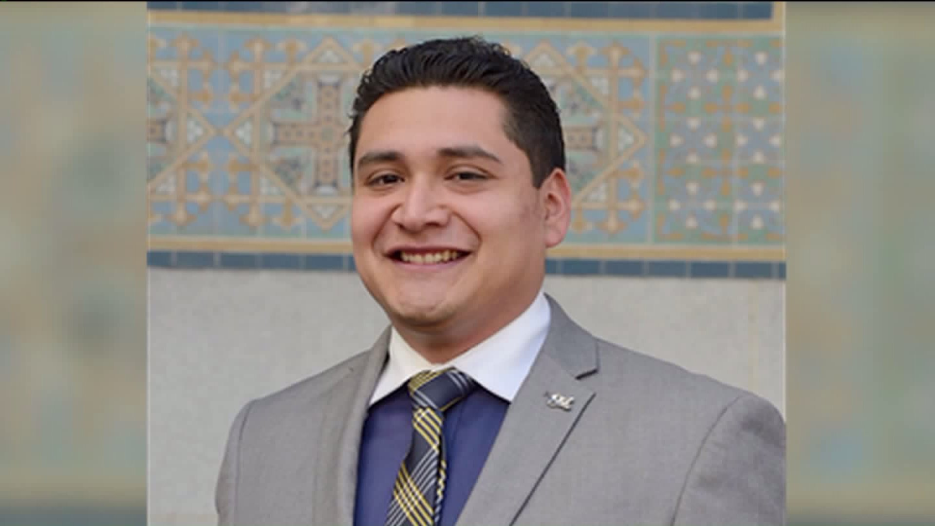 Fredy Torres, a field deputy for Los Angeles City Councilman Marqueece Harris-Dawson is seen in a picture on the city's website.