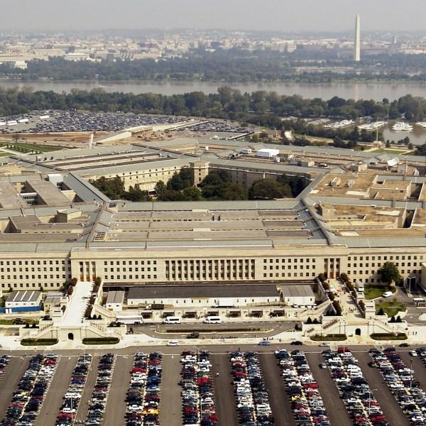 Aerial photo of the Pentagon in Arlington, Virgina on September 26, 2003. (Credit: Andy Dunaway/USAF via Getty Images)