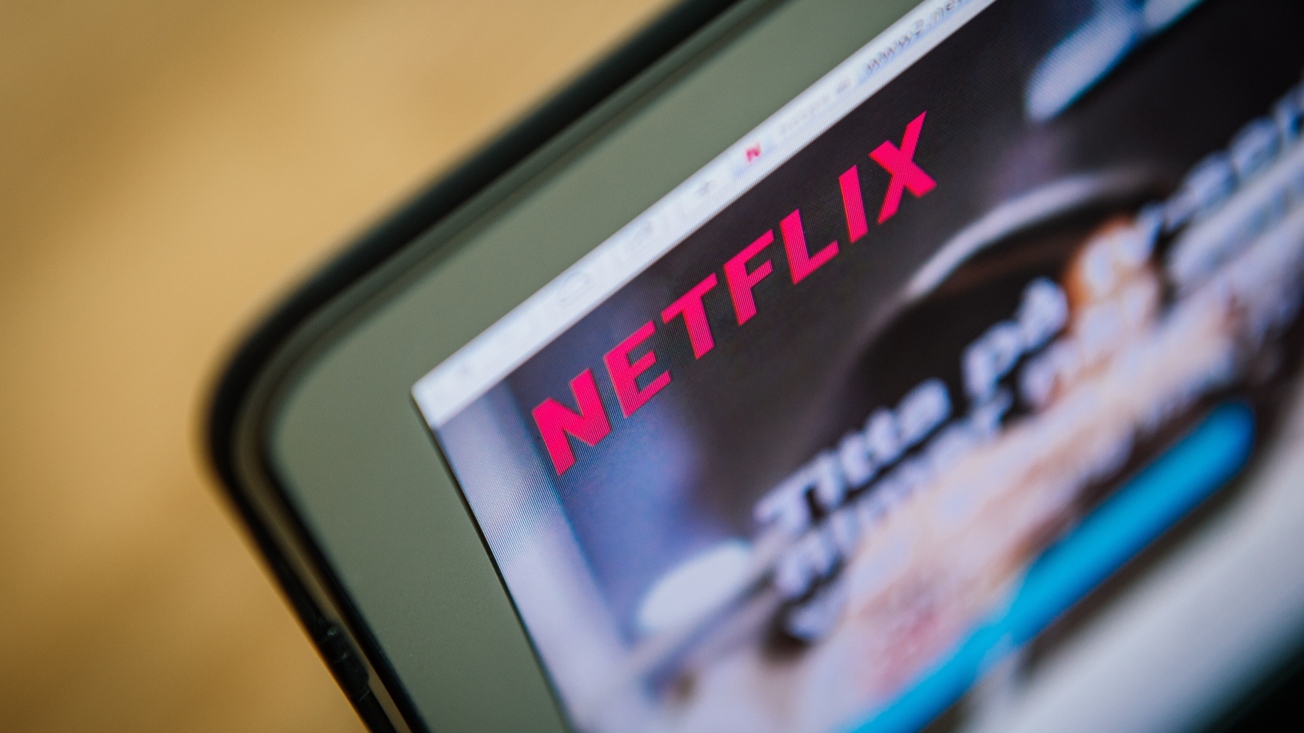 This picture. taken on Sept. 11, 2014, shows the on-demand internet streaming media provider, Netflix, on a laptop screen in Stockholm. (JONATHAN NACKSTRAND/AFP/Getty Images)