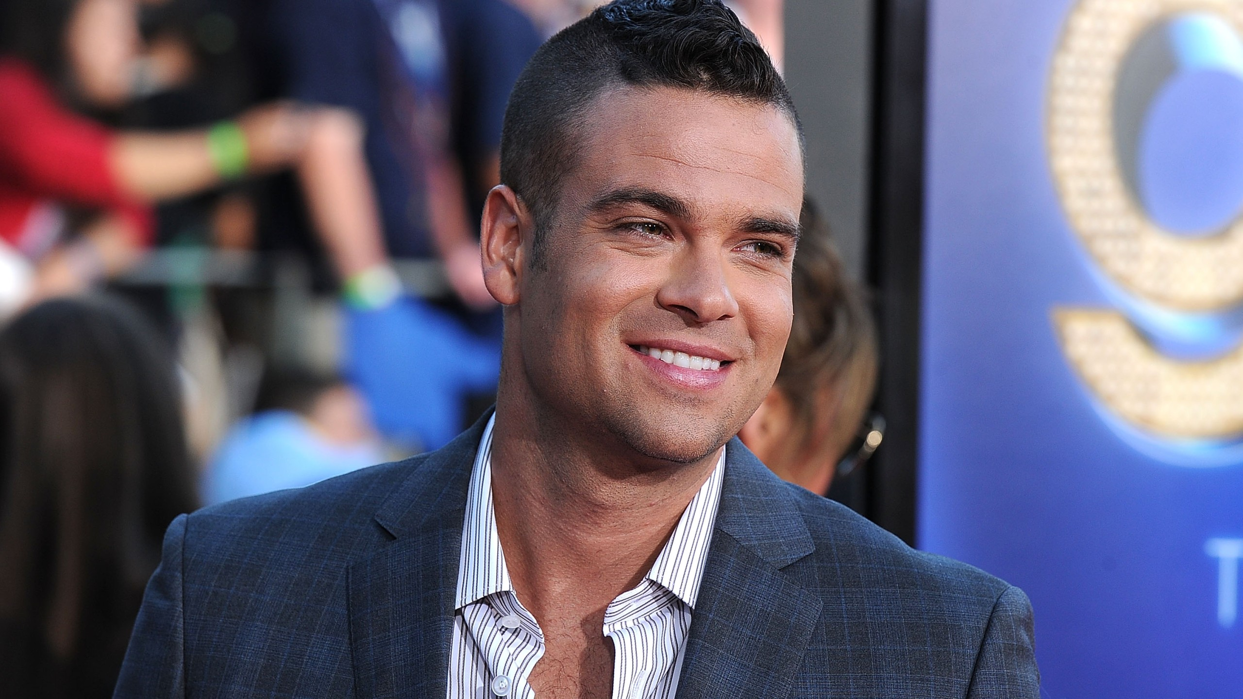 """Actor Mark Salling arrives at the Premiere Of Twentieth Century Fox's """"Glee: The 3D Concert Movie"""" at the Regency Village Theater on August 6, 2011 in Westwood. (Credit: Frazer Harrison/Getty Images)"""