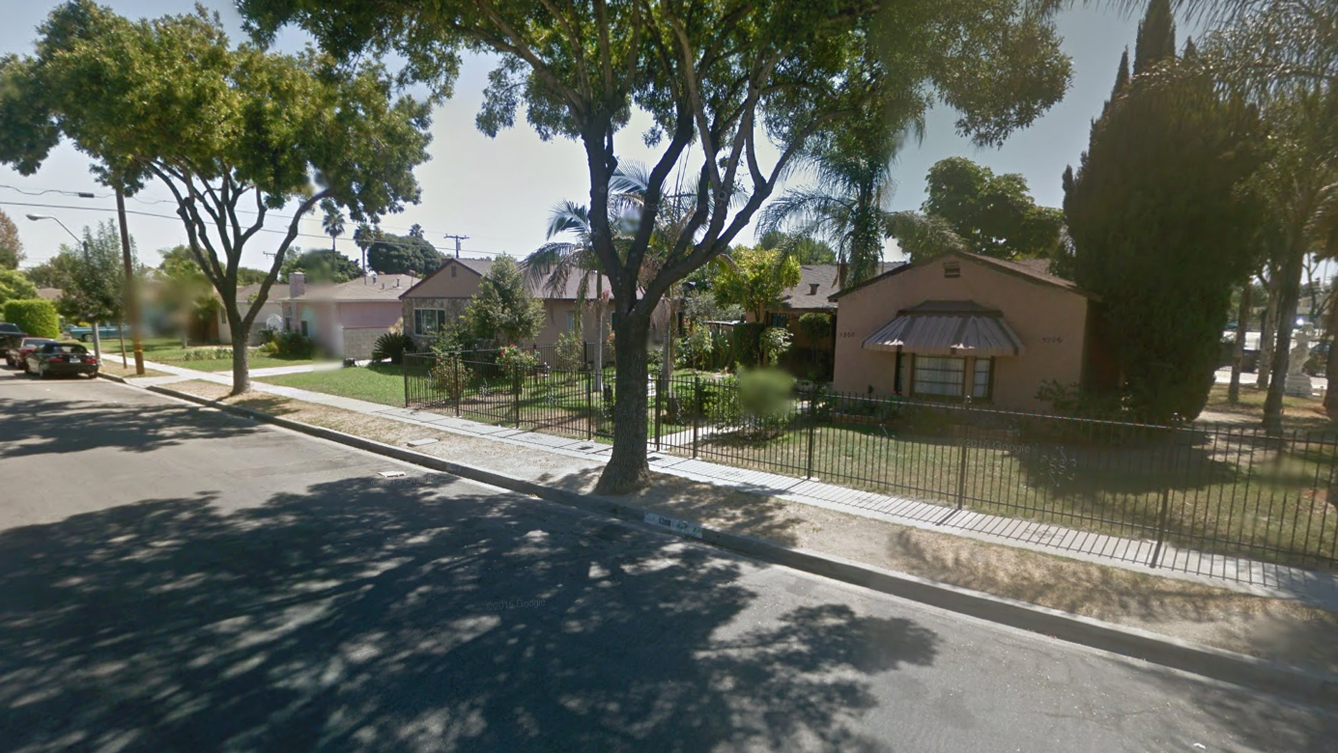 """A woman in South Gate suffered """"suspicious traumatic injuries"""" in the early morning hours of July 4, 2016, and later died. (Credit: Google Maps)"""