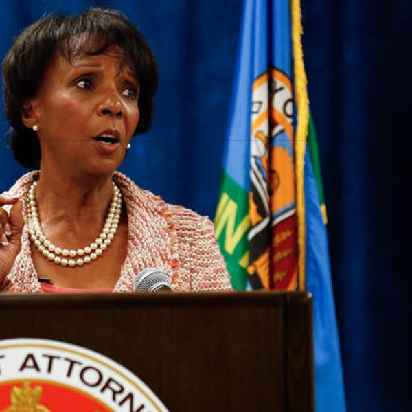 Los Angeles County Dist. Atty. Jackie Lacey at a press conference at the Hall of Justice in Los Angeles on June 29, 2015. (Credit: Mel Melcon / Los Angeles Times)