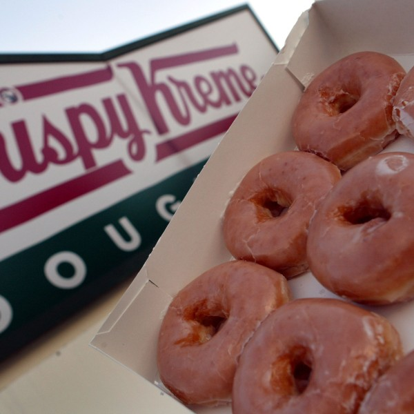 Glazed Krispy Kreme doughnuts are seen in this file photo. (Credit: Joe Raedle/Getty Images)