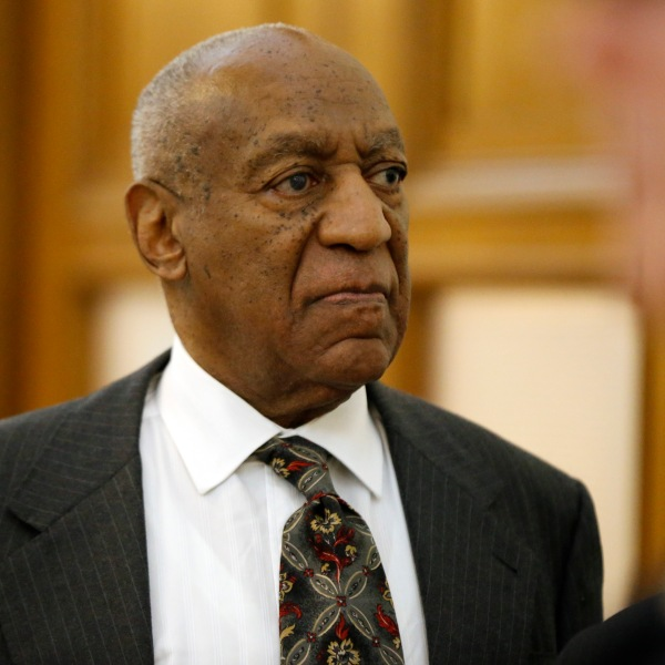Bill Cosby departs the Montgomery County Courthouse after a preliminary hearing, May 24, 2016, in Norristown, Pennsylvania. (Credit: Matt Rourke-Pool/Getty Images)