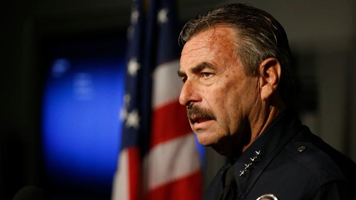 Los Angeles Police Chief Charlie Beck is shown in an undated photo. (Credit: Mark Boster / Los Angeles Times)