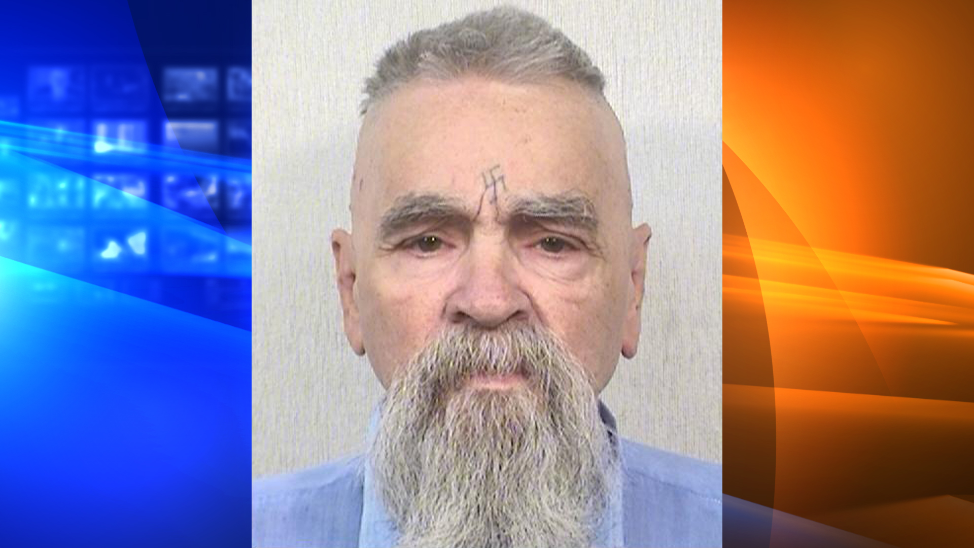 Charles Manson is shown in a California Department of Corrections and Rehabilitation photo dated Oct. 8, 2014.