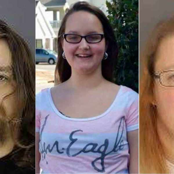 The Bucks County District Attorney's Office released these photos of Jacob Sullivan, left, Grace Packer, middle and Sara Packer, right.