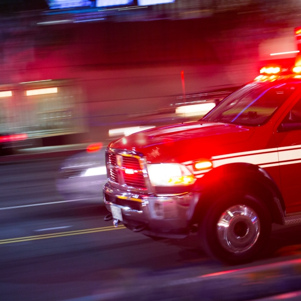 Emergency responders rush to the scene of an emergency in a file photo. (Credit: MattGush/iStock)