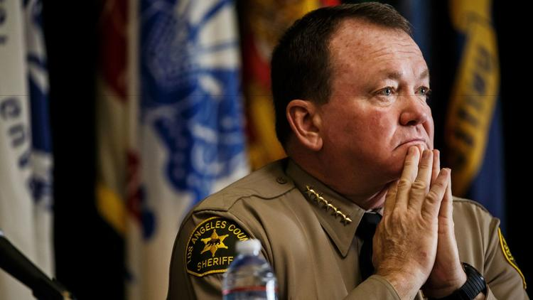 Los Angeles County Sheriff James McDonnell is seen in a file photo. (Credit: Marcus Yam / Los Angeles Times)