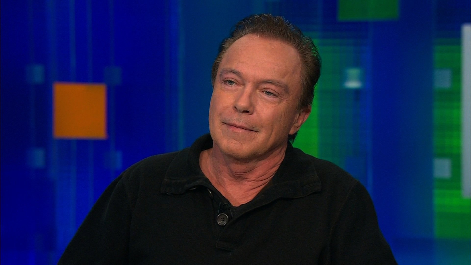 David Cassidy, the 66-year-old singer and actor, says he is battling dementia. (Credit: CNN)