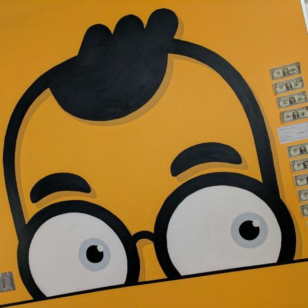 Earny mascot