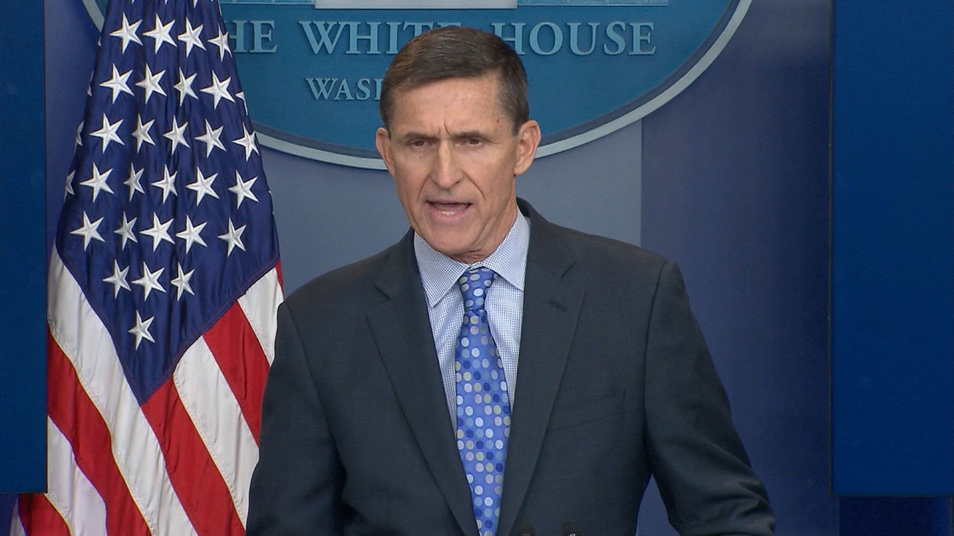Former White House national security adviser Michael Flynn is shown in a file photo. (Credit:CNN)