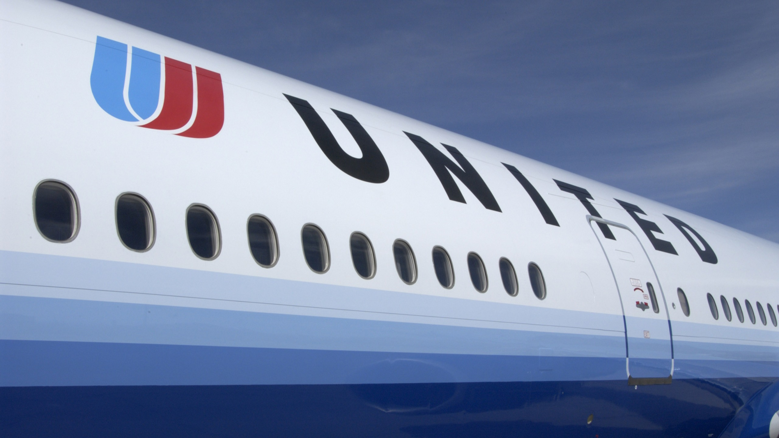 A United Airlines plane is seen in a file photo. (Credit: United Airlines via Getty Images))