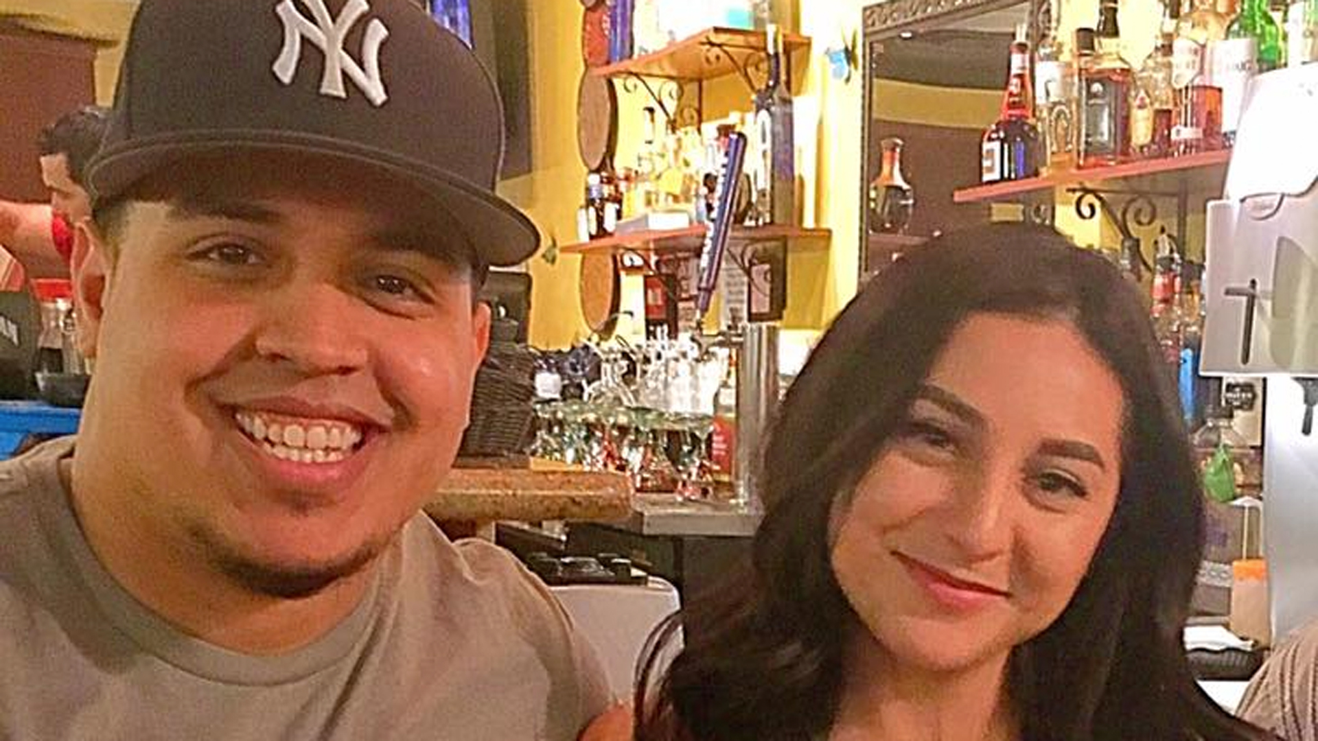 Jonathan Reynoso and Audrey Moran are seen in an image provided by the Indio Police Department.