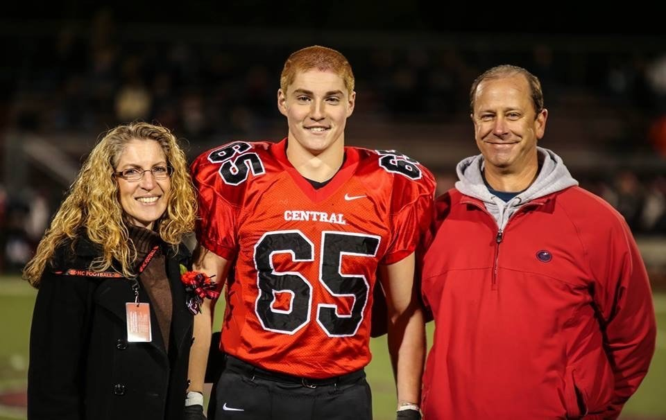 Eighteen fraternity members and the Beta Theta Pi fraternity itself were charged in connection with the Feb. 4, 2017, hazing death of Timothy John Piazza at Penn State University. (Credit: Patrick Carns Photography via CNN Wire)