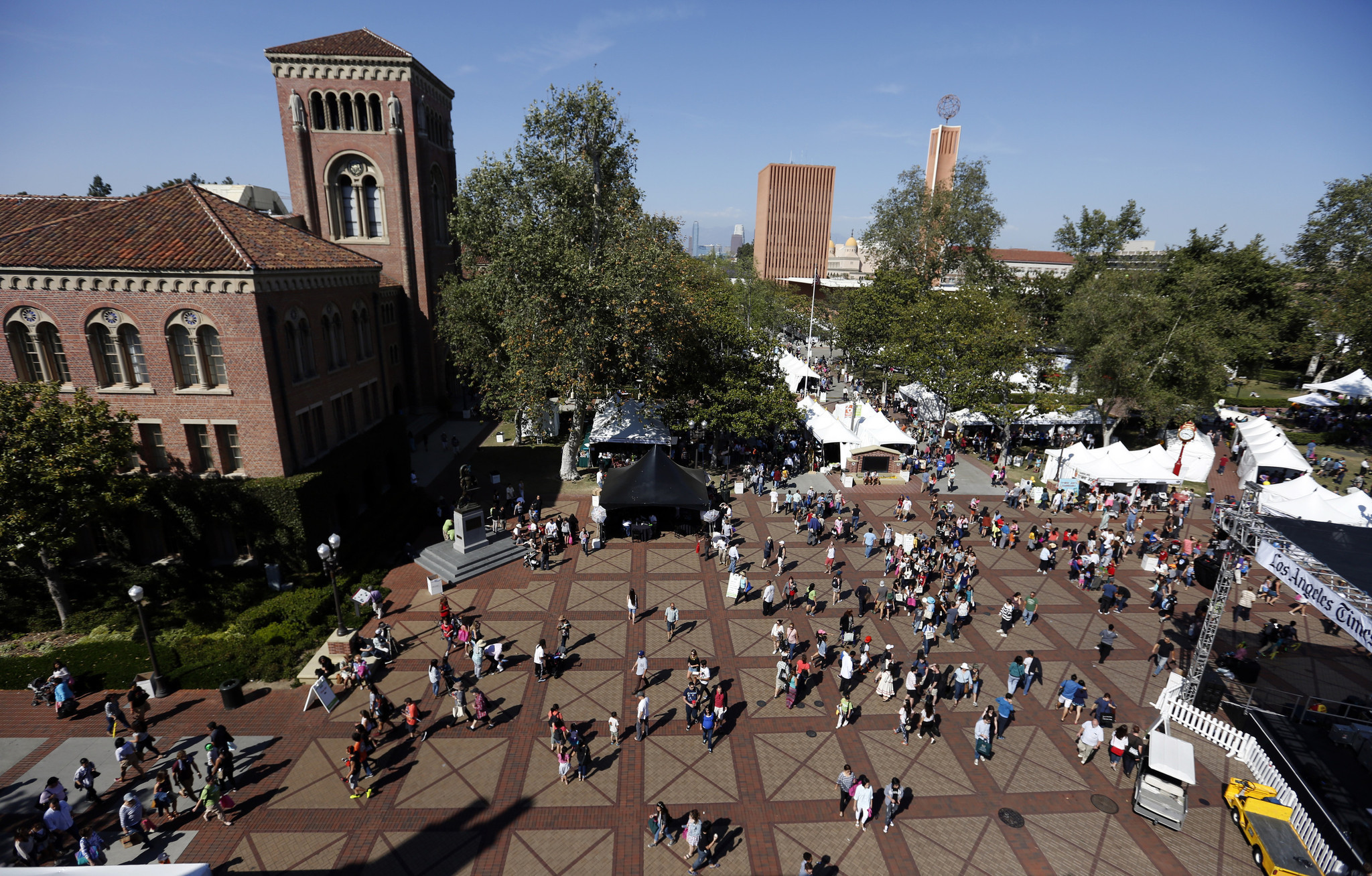 The USC campus is seen in a file photo. (Credit: Francine Orr / Los Angeles Times)